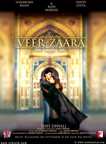 Veer Zaara - All Songs Lyrics