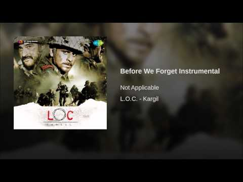 Before We Forget (Instrumental) Lyrics