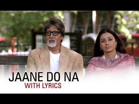 Jaane Do Na, Jaane Jaane Do Na, Mujhe To Jaane Do Na Lyrics - Cheeni Kum