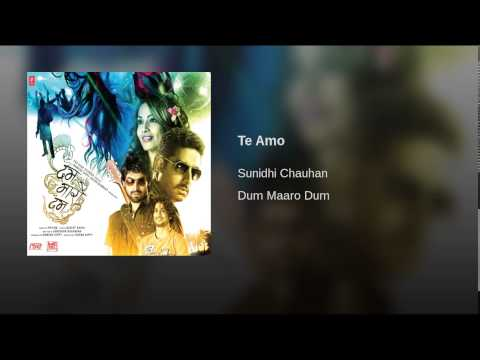 Te Amo Me Te Amo (Female) Lyrics - Dum Maaro Dum