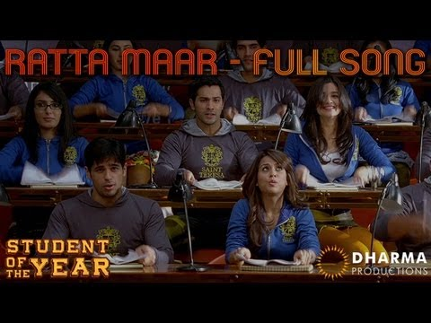 Ratta Maar Ratta Maar Lyrics - Student Of The Year