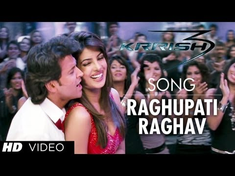 Raghupati Raghav (Celebrations Tere Naam) Lyrics - Krrish 3