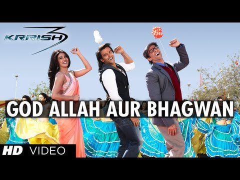 God Allah Aur Bhagwan Ne Banaya Ek Insaan Lyrics - Krrish 3