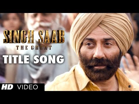 Singh Saab The Great - Title Song Lyrics