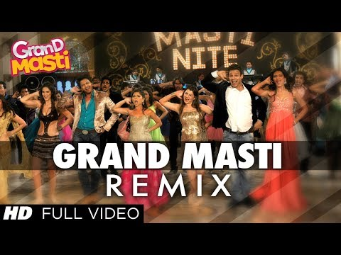 Grand Masti - Title Song (Remix) Lyrics - Grand Masti