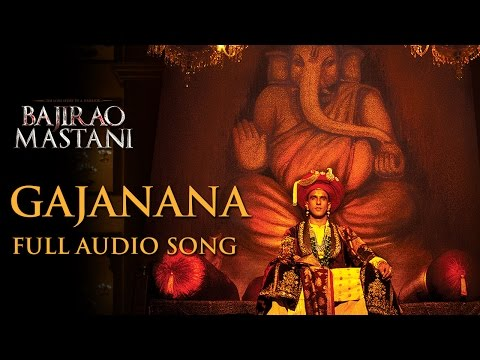 Gajanana Lyrics - Bajirao Mastani
