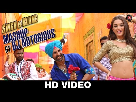 Mashup Lyrics - Singh Is Bliing