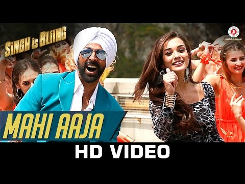Mahi Aaja Lyrics - Singh Is Bliing