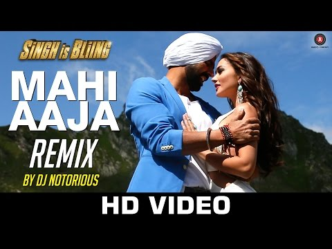 Mahi Aaja (Remix) Lyrics - Singh Is Bliing
