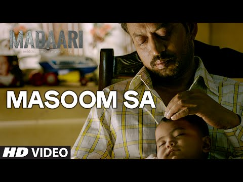 Masoom Sa Lyrics - Madaari