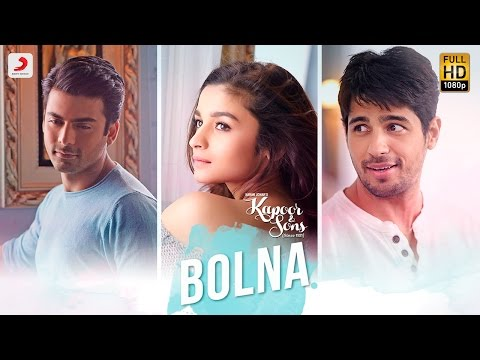 Bolna Mahi Bolna Lyrics - Kapoor & Sons