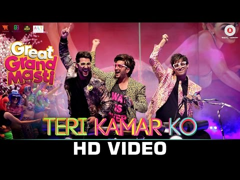 Teri Kamar Ko Lyrics - Great Grand Masti