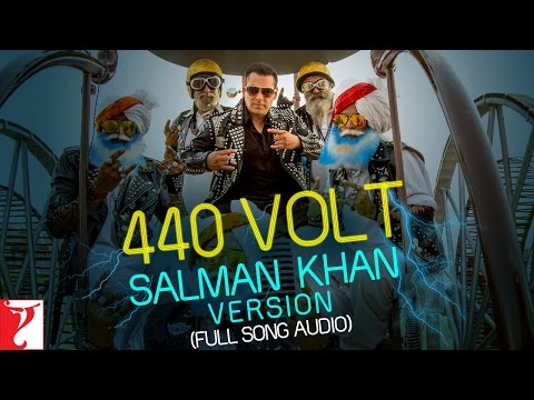 440 Volt (Salman Khan Version) Lyrics - Sultan