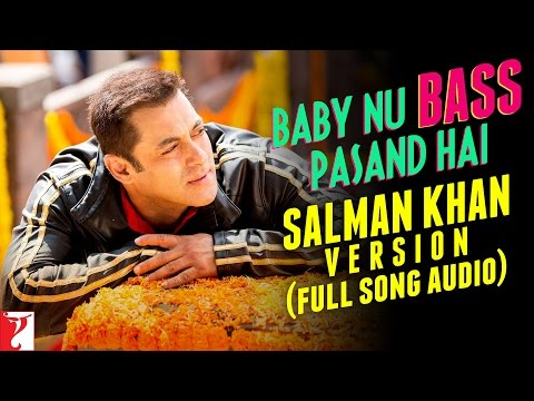 Baby Nu Bass Pasand Hai (Salman Khan Version) Lyrics - Sultan