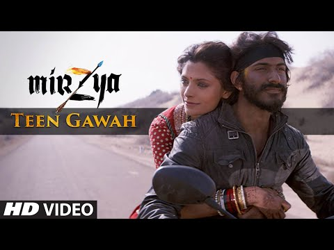 Teen Gawah Hain Ishq Ke Lyrics