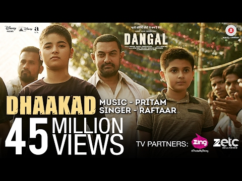 DHAAKAD Lyrics - Dangal