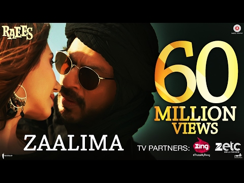 ZAALIMA Lyrics - Raees
