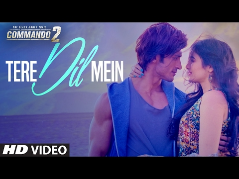 TERE DIL MEIN Lyrics - Commando 2