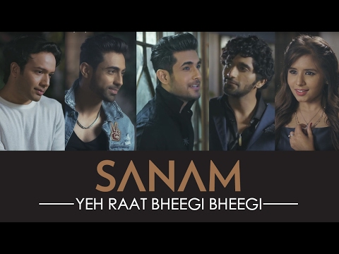 Yeh Raat Bheegi Bheegi Lyrics - SANAM Band's Valentine's Day Special Single