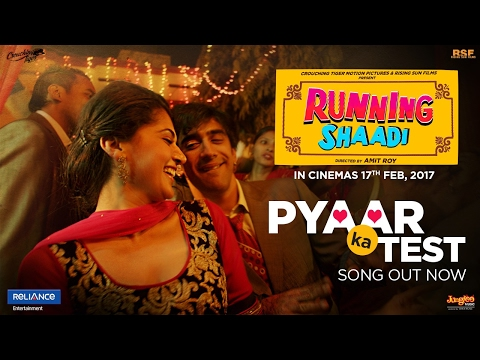 Pyaar Ka Test Lyrics - Running Shaadi.com