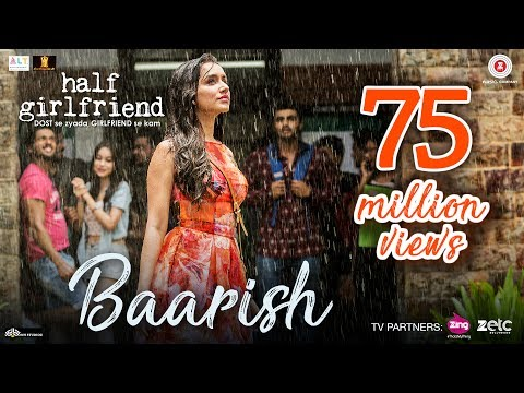 BAARISH Lyrics - Half Girlfriend