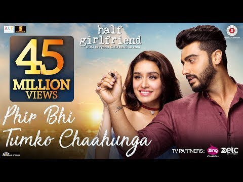 Main Phir Bhi Tumko Chahunga Lyrics - Half Girlfriend